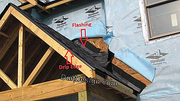 Remove a pole from a roof overhang
