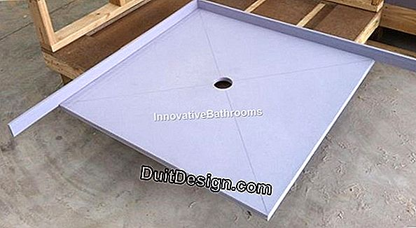 Waterproof a plastic shower tray