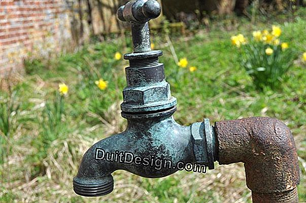 A tap in the garden