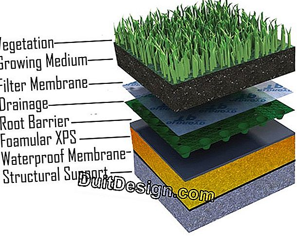 Insulation of a soil from below