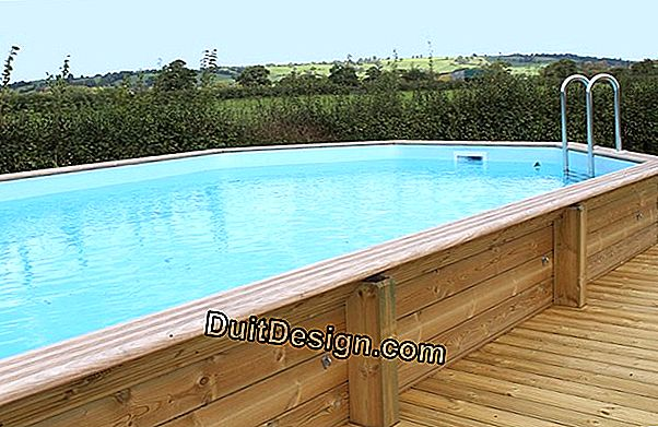 Install a wooden pool