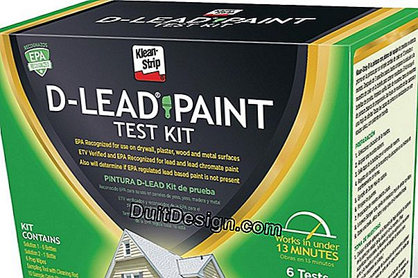 Strip a lead paint