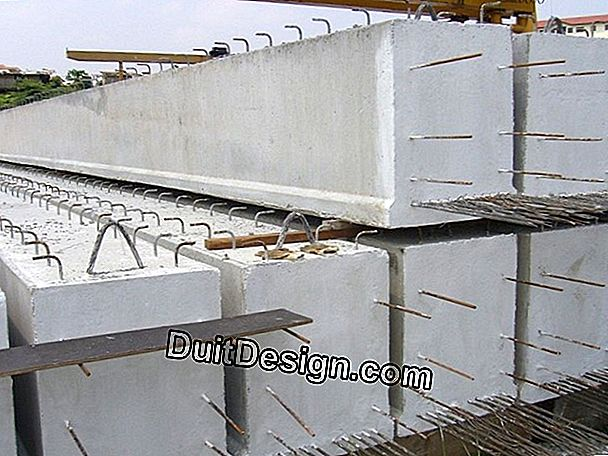 Construction of beam joist reinforcement reinforced with U.P.N.