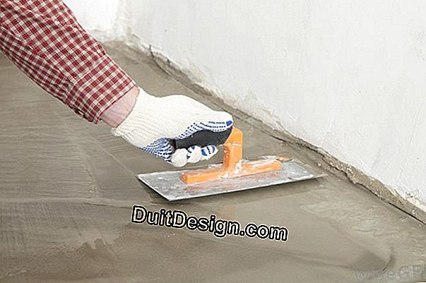 Floor paint on mortar screed or smoothing