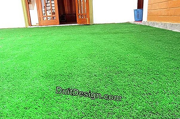 Floor paint and synthetic turf