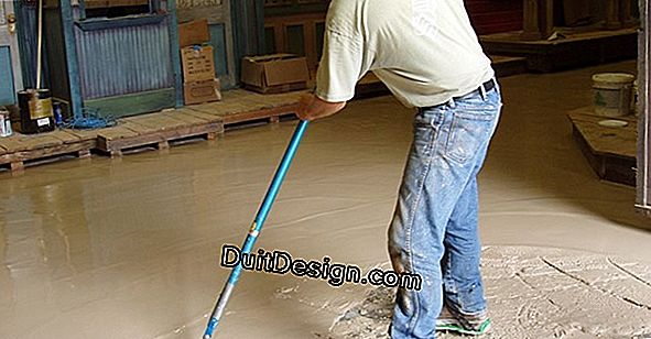 Do you need a leveling compound before laying a tile on the floor?
