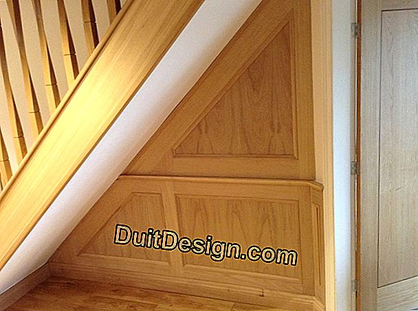 Paint a natural wood staircase