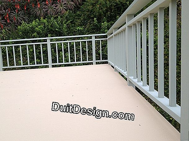 Which coating to choose for a balcony?