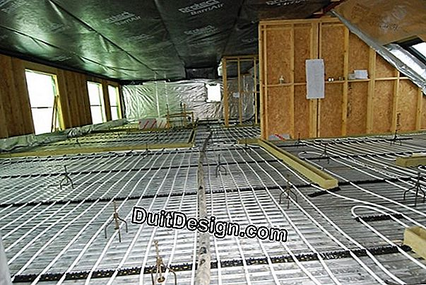 Install a floor heating upstairs?