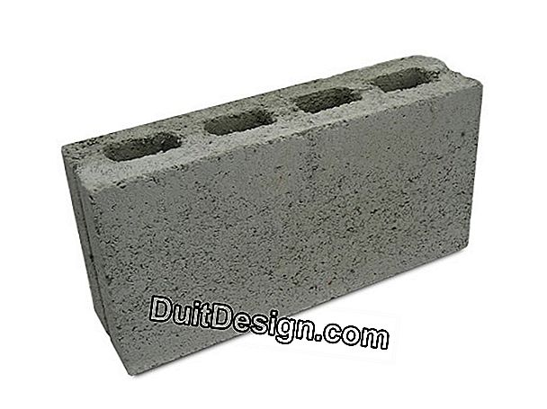 Block or hollow brick for construction