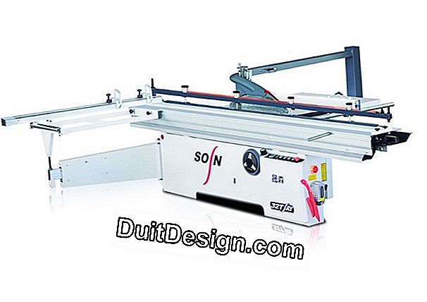 Electric panel saw