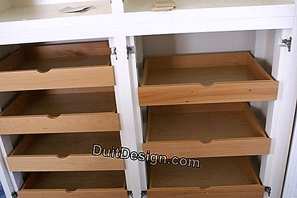 Create kitchen shelves