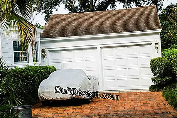 Install a sectional garage door
