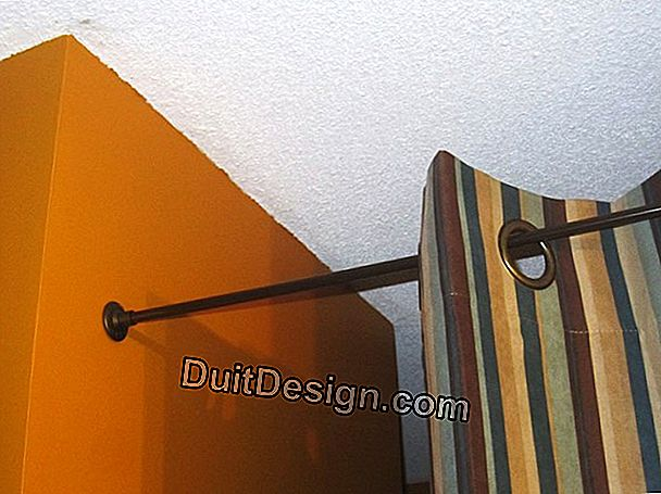 Put a curtain rod