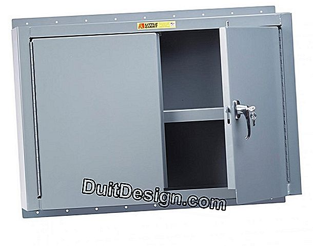 Manufacturer a storage cabinet on the wall
