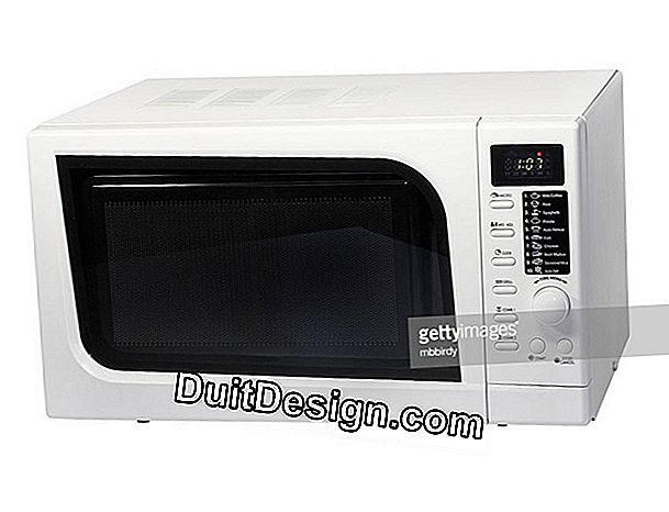 Embed a microwave oven in a kitchen