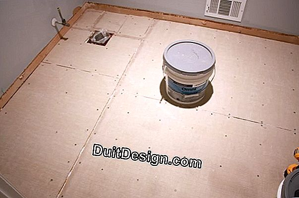 Preserve an old tiling floor