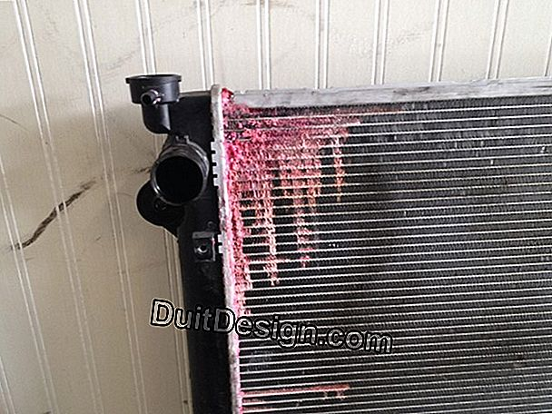 Leak on radiator