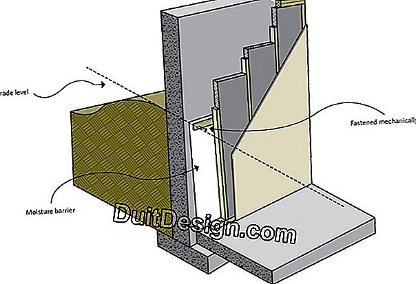 Insulate a floor between two levels
