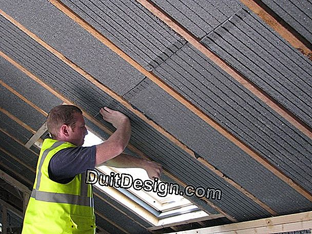 Tip: check the insulation of the roof