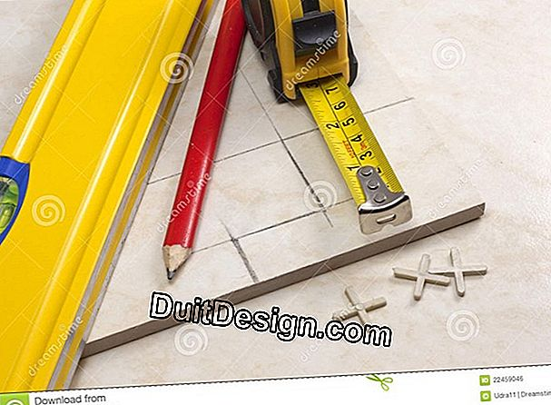 Cutting and preparation of tiles
