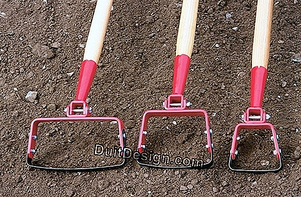 Tools for weeding, hoeing