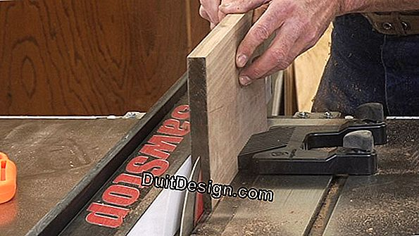 Use a portable power saw