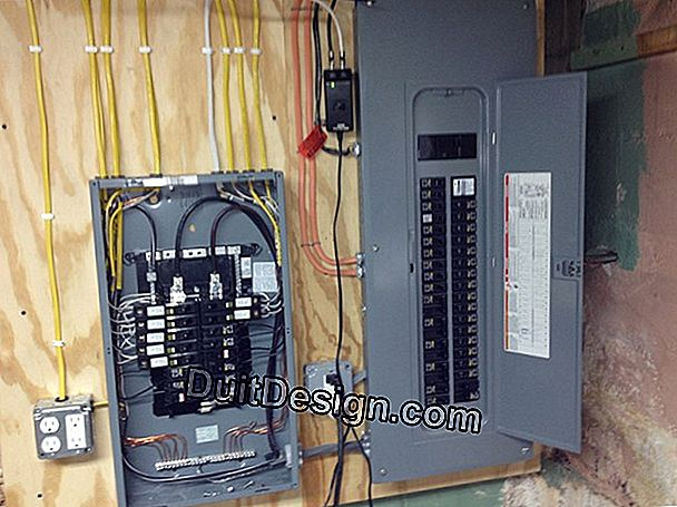 Connect an electrical panel