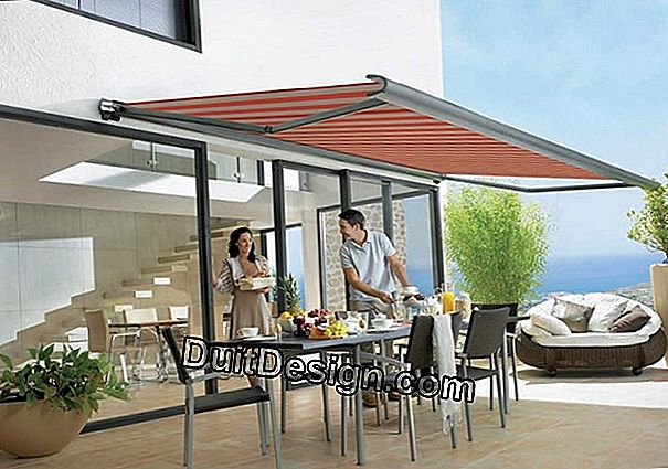 Build a terrace awning
