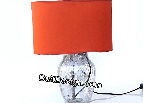 Turn a vase into a lamp