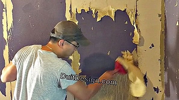 Remove an old plaster