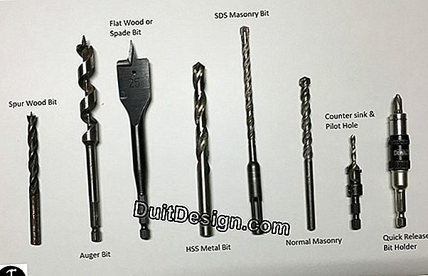 Choose your drill: types and uses