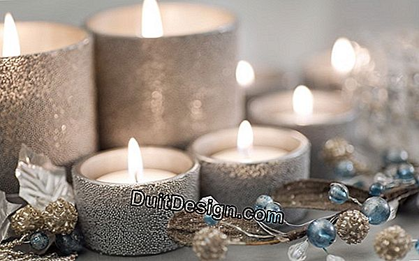 Make decorative candles