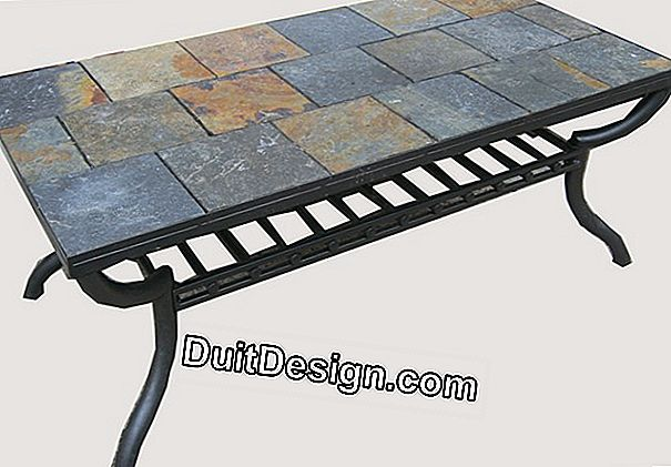 Tile a coffee table