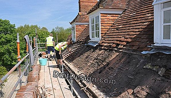 Renovate a roof