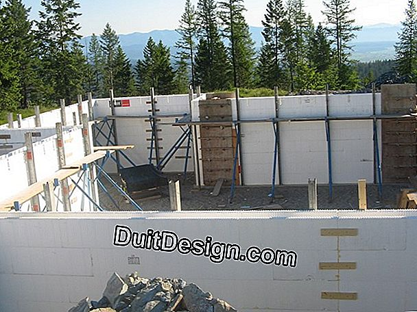 4. Concrete walls: strong and durable