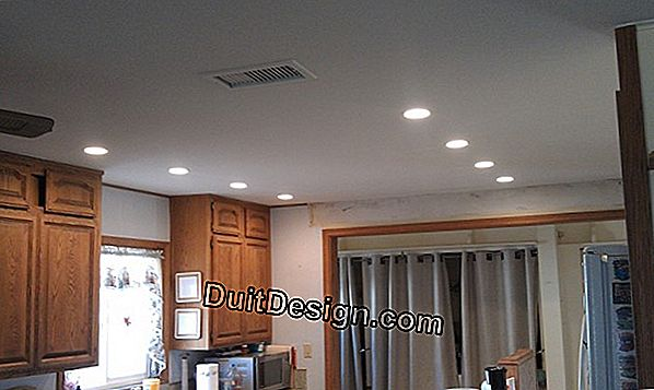 Install directional lights in the ceiling