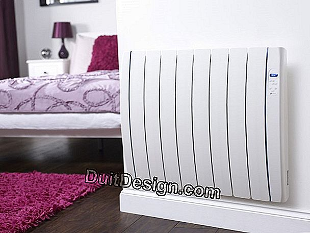 Installation of radiators with inertia