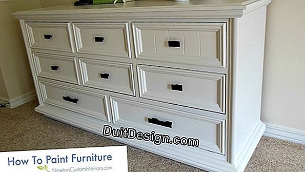 Paint a piece of furniture