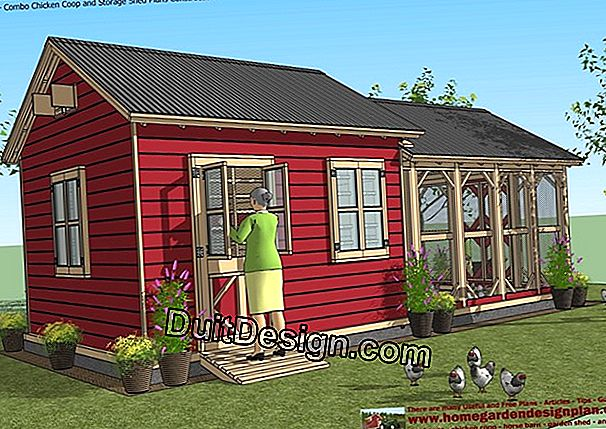 The plan of your garden shed