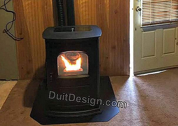 Installation of a wood or pellet stove