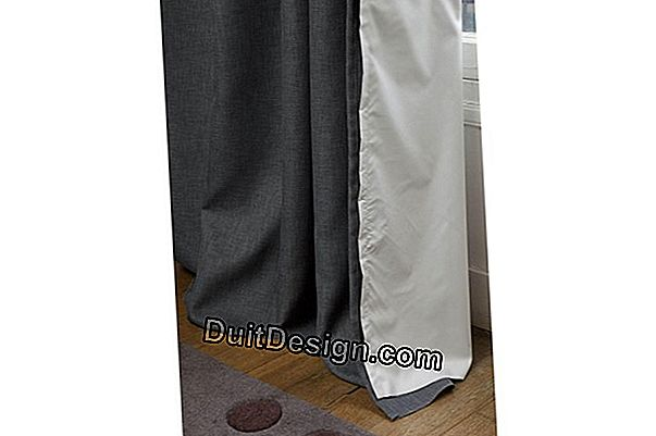 Moondream thermal curtain lining