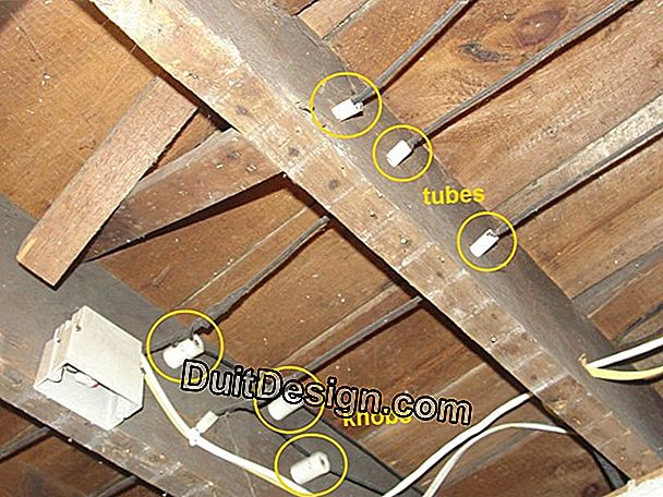 Insure the temporary insulation of the attic