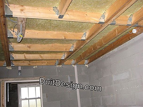 Provide sound insulation between several apartments
