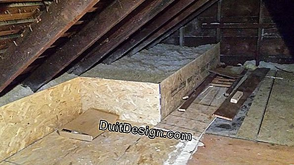 Reinforce roof insulation