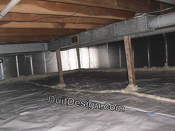 Insulate a fiber cement cover
