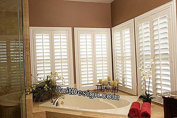 What to do in case of installation of shutters not in conformity with the dimensions of the window?