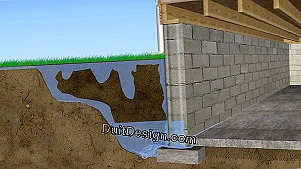 Protect your home from moisture and seepage