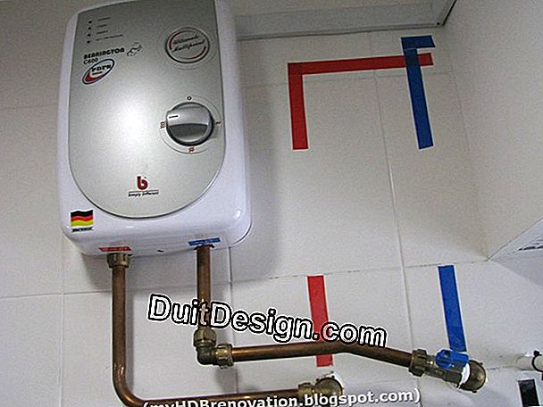 Connecting an electric storage water heater