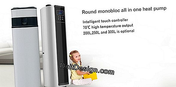 Thermodynamic water heater on VMC